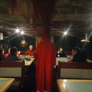Mikulas is beugrott / Santa has joined the party #boatlife #boatlife⚓️ #hajoznijo #portumlines